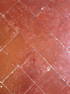 manutenzione pavimento in cotto fatto a mano