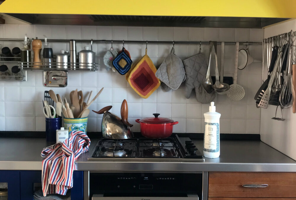Come pulire la cappa della cucina